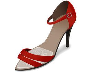 Framfotsinlägg för högklackade skor