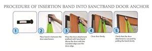Sanctband Slang med handtag